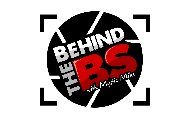 Behind the BS logo
